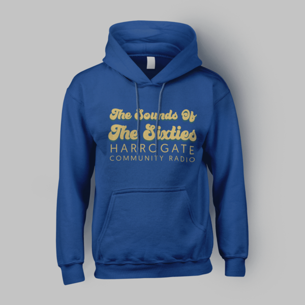 Sounds Of The Sixties Pullover Hoodie Front